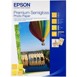 Papel Epson Foto. Semibrilhante Premium - A4 - S041332