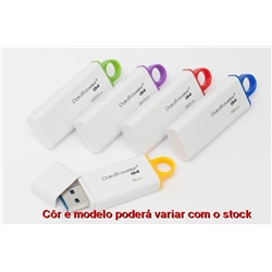 Pen Drive 128Gb USB 3.0 - Kingston - USB128GBUSB3