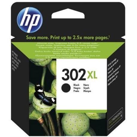 Tinteiro Preto HP Deskjet 1110/2310/Officejet 3830 - 302XL P - HPF6U68A