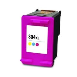 Tinteiro Cores Genérico p/ HP Deskjet 3720/3730 - 304XL C - PRHPN9K07A