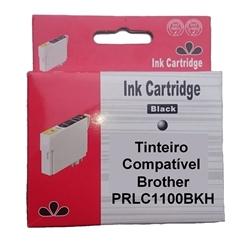 Tinteiro Comp. Preto p/ Brother LC1100HYBK/LC1100BK/LC980BK - PRLC1100BKH
