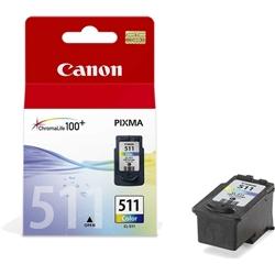 Tinteiro Cores Canon Pixma MP240/260/480 - CL511