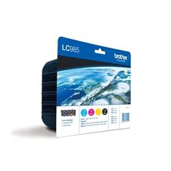 Pack de 4 Tinteiro Brother DCP-J125/J315W/J265W/J410/J415W - LC985VALBP