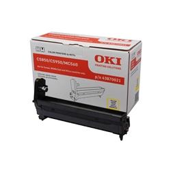 Tambor Oki Okipage C5850/5950 / MC560 - Amarelo - OKITOC5850A