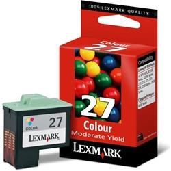 Tinteiro Cores Lexmark Color JetPrinter Z13/Z33 - LEX27 - 10NX227E