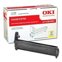 Tambor Laser Oki C5650/5750 - Amarelo - - OKITOC5650A