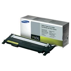Toner Laser Samsung CLP-360/365 / CLX-3300/3305 - Amarelo - CLTY406S