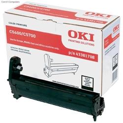 Tambor Laser Oki Okipage C5600/5700 - Preto - - OKITOC5600P