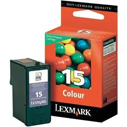 Tinteiro Cores Lexmark X2600/X2650/Z2300-Prog.Retorno-LEX15 - 18C2110E