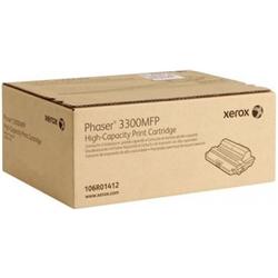 Toner Original Xerox Phaser 3300MFP - 8000 cópias - 106R01412
