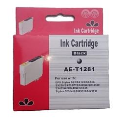 Tinteiro Compatível Preto p/ Epson T128140 - PRT1281