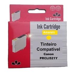 Tinteiro Compatível Amarelo p/ Canon CLI521Y - PRCLI521Y
