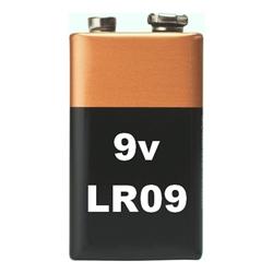 Pilhas Alcalina - 9V - Blister de 1 - LR09-B1