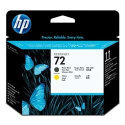 Cabeça Impressão Preto Mate e Amarelo HP T610/1100 - 72 - HPC9384A