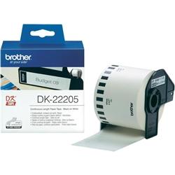 Fita de papel contínuo Brother - Branca - DK22205