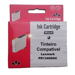 Tinteiro Genérico Preto p/ Lexmark 13400HC/15M0640/ M10 - PR13400HC