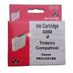 Tinteiro Compatível Preto p/ Canon CLI521BK - PRCLI521BK