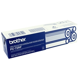 Rolo Recarga Fax Brother T7X/9X/10X - 2 Rolos - PC72RF