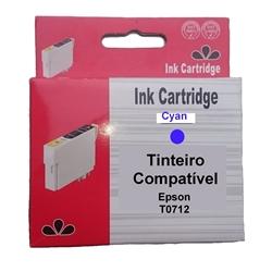Tinteiro Compatível Cião p/ Epson T0712/T0892 - PRT071240