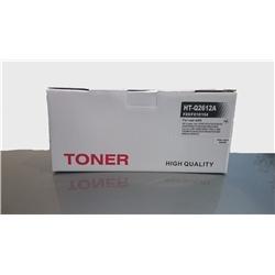 Toner Genérico p/ HPQ2612A e CANON FX-10/703 - PRHPQ2612A