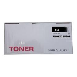 Toner Genérico Preto p/ OKI C3520/C3530/MC350/MC360 - PROKIC3520P