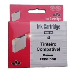Tinteiro Compatível Preto p/ Canon PGI5BK - PRPGI5BK