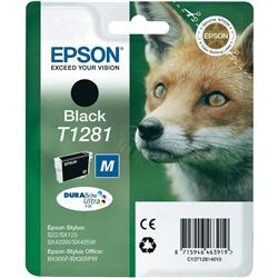 Tinteiro Preto Epson Stylus S22 / SX125/420W/425W - T128140